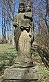Wołowiec, cerkiew Opieki Matki Bożej, przycerkiewny cmentarz (HB18).jpg