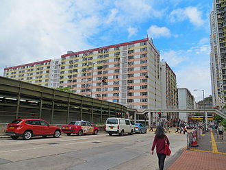Shek Kip Mei Estate - Shek Kip Mei Estate Block completed in 1977