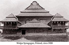 Wolpa Synagogue Poland 1920