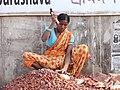 Woman Breaking Bricks - Srimangal - Sylhet Division - Bangladesh (12903887005).jpg
