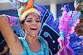 Woman in blue parade costume (Atsme).jpg
