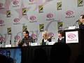WonderCon 2011 - V panel with Marc Singer, Elizabeth Mitchell, and Scott Rosenbaum (5596533181).jpg
