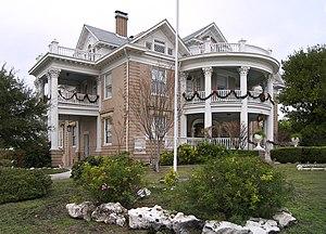 Woman's Club of San Antonio - Image: Woodward house sa 2011