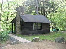 Cabin 14 In The Park Was Built By The CCC And Is Part Of The NRHP Listed  Historic District.