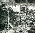 Wreckage after bombing 1, Impressions of the Fight ... in Indonesia, p25.jpg