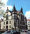 Wrocław - Krzyki, ul. Dawida 1, budynek główny Instytutu Pedagogiki i Psychologii Uniwersytetu Wrocławskiego.jpg