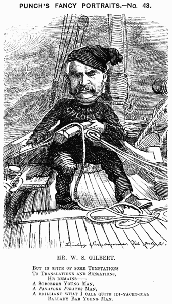 Caricature from Punch, 1881 Ws gilbert cartoon.png