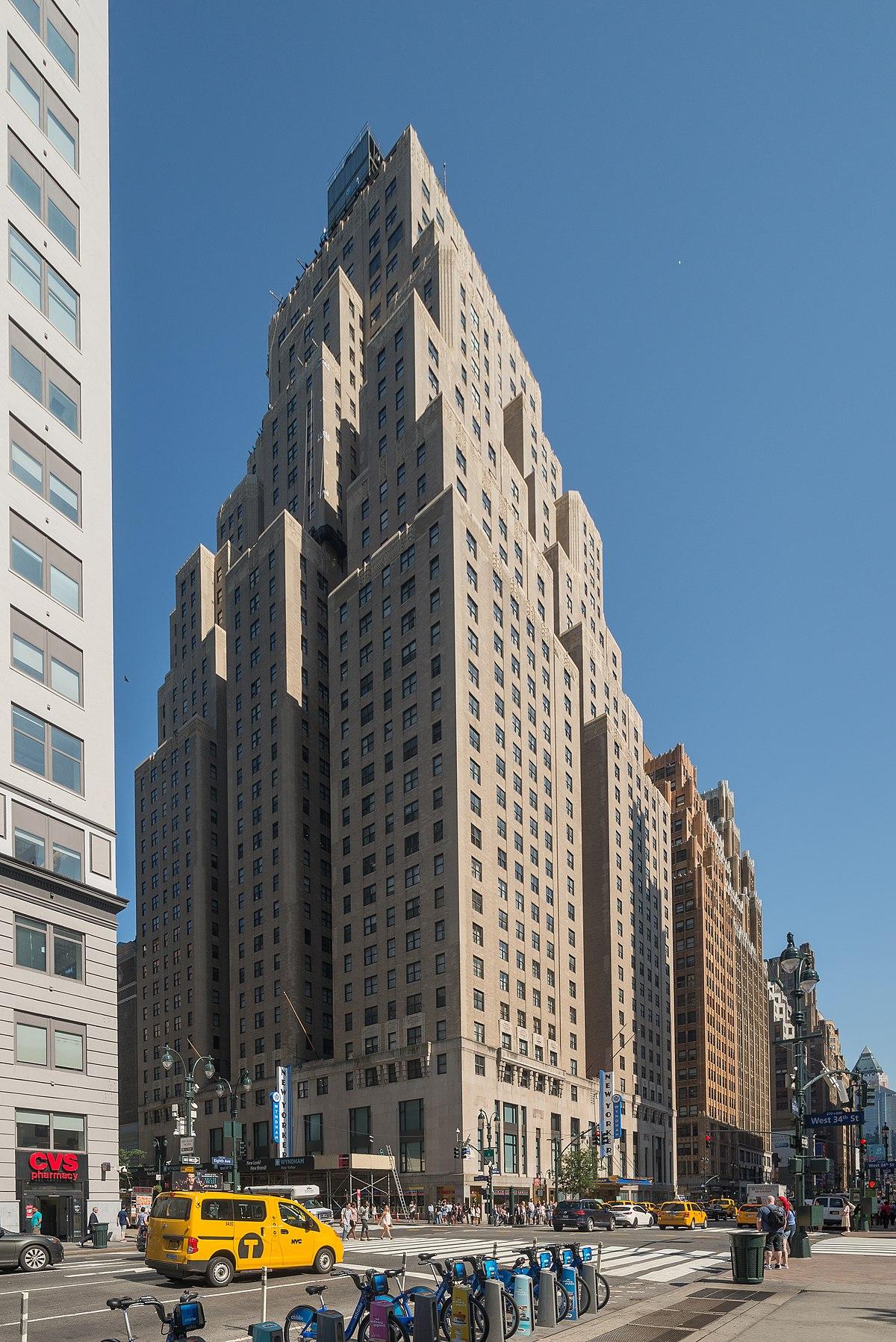 New Yorker Hotel Wikipedia