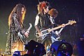 X Japan guitarists at Madison Square Garden.jpg