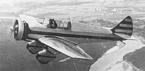 Yakovlev AIR-9 - The AIR-9bis in flight, pilotted by Piontkovskii