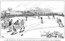 Earliest known picture of Polo Grounds I