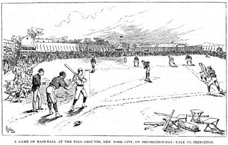 Polo Grounds - Earliest known image of Polo Grounds I, from 1882