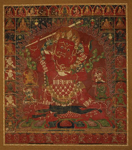 Yamari, Rakta (Buddhist Deity) 16th century Boston MFA