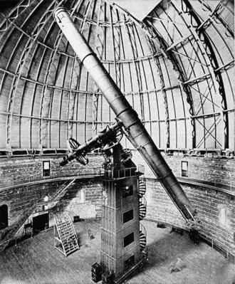 Yerkes Observatory - Image: Yerkes 40 inch Refractor Telescope 1897