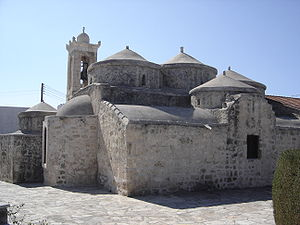 Religion in Cyprus - Agia Paraskevi Byzantine church in Yeroskipou