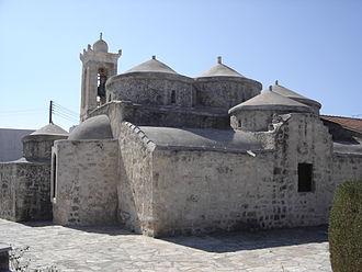 Christianity in Cyprus - Agia Paraskevi Byzantine church in Yeroskipou