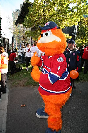 Youppi! - Youppi! as the Canadiens' mascot