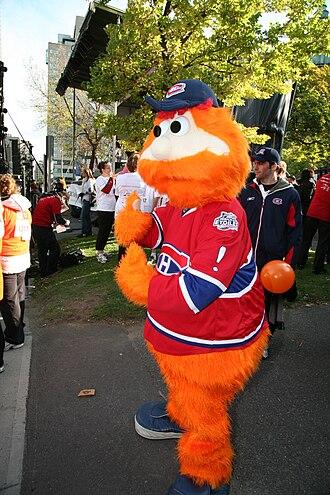 Youppi! - Youppi! as the Canadiens' mascot