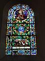 Ypreville-Biville (Seine-Mar.) église d'Ypreville, vitrail 01.jpg
