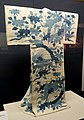 Yukata (summer kimono) in white hemp with stone bridge pattern, 1746-1841 AD - Edo-Tokyo Museum - Sumida, Tokyo, Japan - DSC06782.jpg