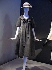 0a9c0a731ff Yves Saint Laurent trapeze dress for Dior, 1958.