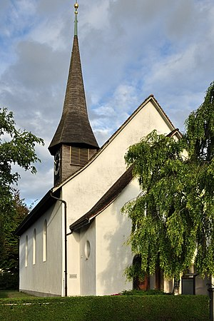 Affoltern (Zürich) - Reformed church in Unteraffoltern