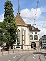 Zürich - Wasserkirche - Limmatquai IMG 0547 ShiftN.jpg
