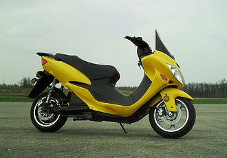 Z Electric Vehicle - Image: ZEV (Z electric vehicle) 7000 model screaming yellow