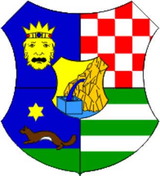2017–18 Croatian First Football League - Image: Zagreb County coat of arms