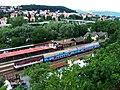 Zbraslav, patrový vlak, z kopce.jpg