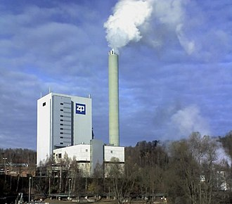 Pulp mill - Pulp mill at Blankenstein (Germany)