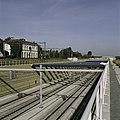 Zicht in de open tunnelbak van het aquaduct, links het voormalige NS Station - Abcoude - 20396319 - RCE.jpg