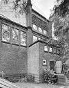 zijgevel met nooduitgang van de synagoge te enschede - enschede - 20338366 - rce
