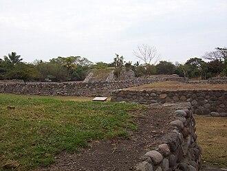 El Chanal - Image: Zona Arqueológica de El Chanal en Colima, México (15 01 2003)