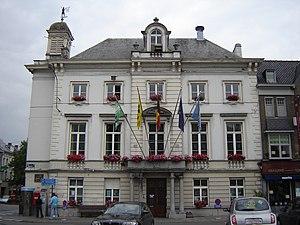 Zottegem - Image: Zottegem City hall 1