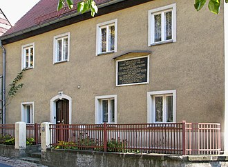 Karl G. Maeser - The house where Karl G. Maeser was born