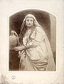 Zuleika; photograph by Julia Margaret Cameron; c. 1864 Wellcome L0027158.jpg