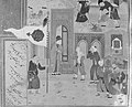 """""""Funeral Procession"""", Folio 35r from a Mantiq al-tair (Language of the Birds) MET 178475.jpg"""