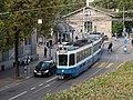 """""""Tram 2000"""" der Linie 5 auf der Rämistrasse beim Heimplatz (2013).jpg"""