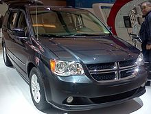 2017 Dodge Grand Caravan 30th Anniversary Edition On Display At The Montreal Auto Show 22 January