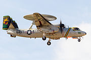 'Liberty 600' - VAW-115 CAG Bird on short final for R-W01. (8342033638).jpg