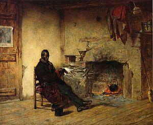 Edwin White - 'Thoughts of Liberia - Emancipation' by Edwin White, 1861