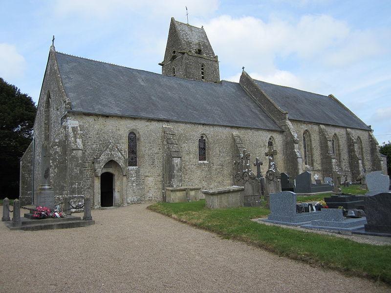 Église Saint-Clément de Flottemanville-Bocage (XIV/XV)