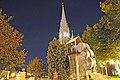 Église Sainte-Thérèse-de-Blainville (d'Avila) et une fontaine.jpg