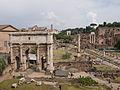 Řím, Forum Romanum, pohled z kapitolských muzeí.jpg