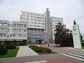 Škoda head office 01.JPG