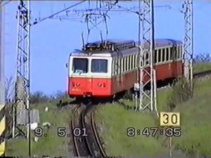 File:Štrbské Pleso – Štrba rack railway (EMU 29.0, 2001).webm