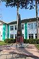 Іллінці, Пам'ятник 2 учителям і 33 учням школи загиблим на фронтах ВВВ.jpg