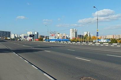 Как доехать до Бесединское Шоссе на общественном транспорте