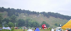Grushinsky festival - Grushin mountain, 2005